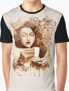 Espresso Lady Graphic T-Shirt
