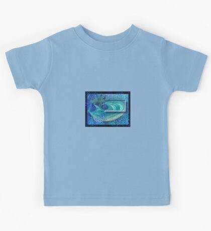 Abstract / Symbolic Art  - Thirst / Water Immersion Dream Kids Tee