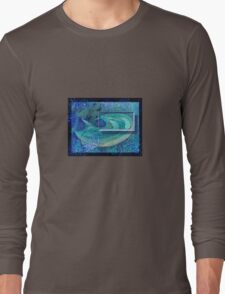 Abstract Art  - Thirst / Water Immersion Dream Long Sleeve T-Shirt