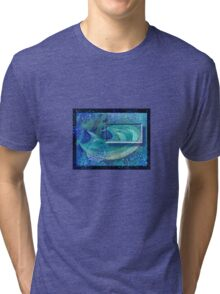 Abstract / Symbolic Art  - Thirst / Water Immersion Dream Tri-blend T-Shirt