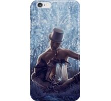 Man and the dragon iPhone Case/Skin