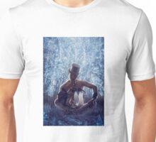Man and the dragon Unisex T-Shirt