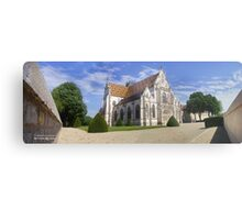 The Royal Monastery of Brou (France) Metal Print