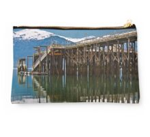 The Dock at Haines Alaska Studio Pouch