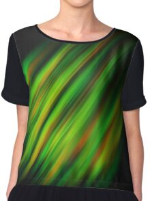 Colorful brush strokes Chiffon Top