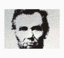 Modern Abe - Abraham Lincoln Art by Sharon Cummings One Piece - Short Sleeve
