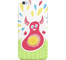 Jumping Happy Creature iPhone Case/Skin