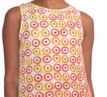 Abstract Flowers Contrast Tank