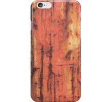 Orange rust effect. iPhone Case/Skin
