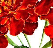 Bouquet of Marigolds Sticker
