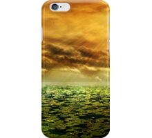 Sunrise with Golden Sunshine Rays iPhone Case/Skin
