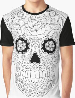 Candy Skull  Graphic T-Shirt
