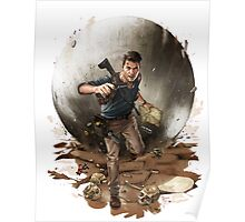 Games :: Uncharted 4 :: Art Poster
