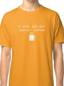 Command Line Coffee Install Classic T-Shirt