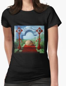 The Holy Egg Womens Fitted T-Shirt