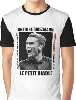 Antoine Griezmann - Vector Graphic T-Shirt