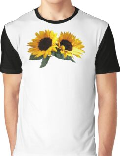 Sunny Sunflowers Graphic T-Shirt