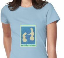 Tenderness Acrylic Abstract Art  Womens Fitted T-Shirt