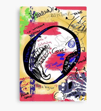 Parasitic Extortion Canvas Print