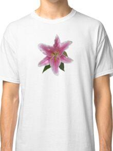 Single Stargazer Lily Classic T-Shirt