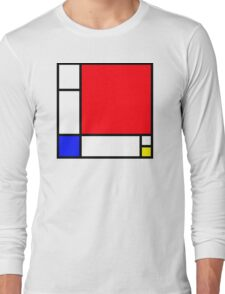 Squares_3 Long Sleeve T-Shirt
