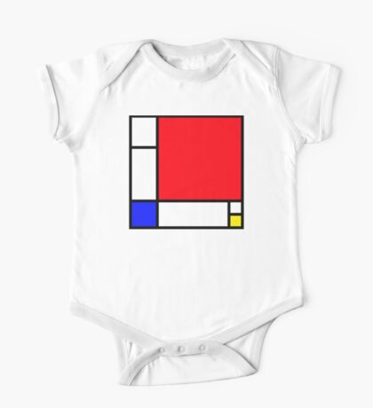 Squares_3 One Piece - Short Sleeve