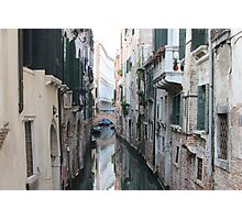 Street in Venice Photographic Print