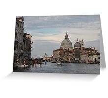 The Grand Canal - Venice Greeting Card