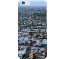 Roofs of victorian houses in Melbourne iPhone Case/Skin