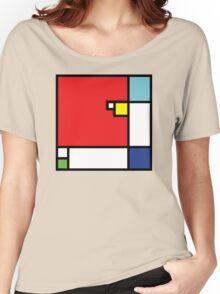 Squares_1 Women's Relaxed Fit T-Shirt