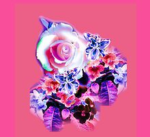 FLORAL ELECTRIC ROSE/COLLECTION by Shoshonan