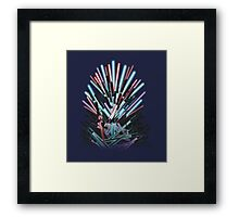 Throne Wars Framed Print