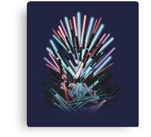 Throne Wars Canvas Print