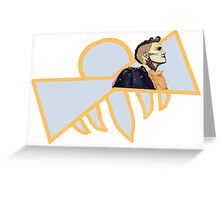 Oscars Hotel Queen Bee Character Print Greeting Card