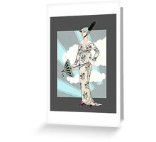 Art Deco 6 Greeting Card