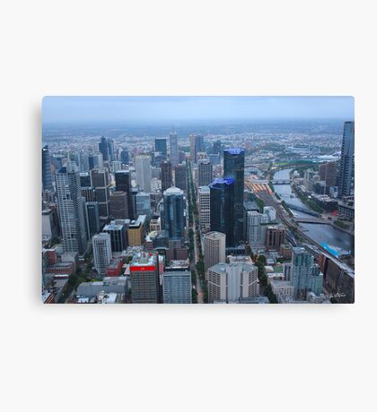 Towers of Melbourne Canvas Print