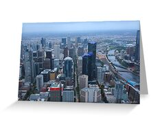 Towers of Melbourne Greeting Card