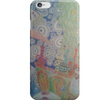 An oceanography shot from the beginning of the film Ponyo iPhone Case/Skin