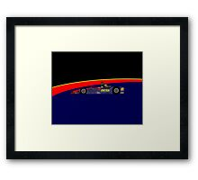 Matthew Brabham (2016 Indy 500) Framed Print
