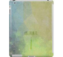 Obliviate iPad Case/Skin