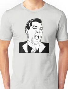 Ray Laugh Meme by Tai's Tees Unisex T-Shirt