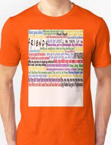 Friends Quotes Unisex T-Shirt