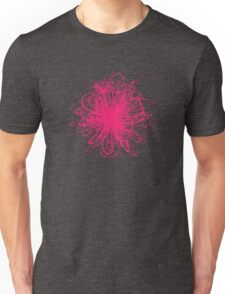 Speckle Gravity Pink Unisex T-Shirt