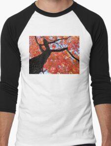 Black Gum Tree Men's Baseball ¾ T-Shirt