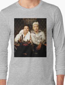 BigBang GD&TOP Kpop Big Bang Top G Dragon Long Sleeve T-Shirt
