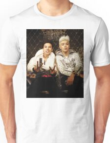 BigBang GD&TOP Kpop Big Bang Top G Dragon Unisex T-Shirt