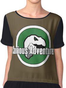 Curious Adventurer Chiffon Top