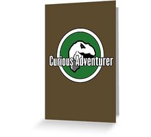 Curious Adventurer Greeting Card