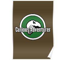 Curious Adventurer Poster