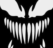 Venom face 2 Sticker